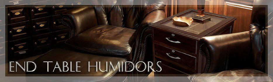 End Table Humidors
