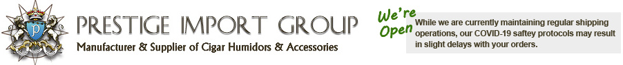 Manufacturer & Supplier of Cigar Humidors & Accessories
